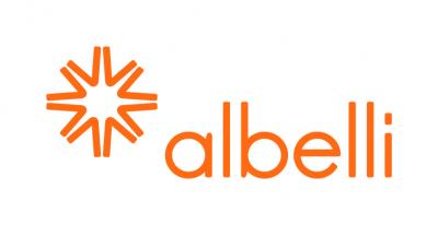 Logo albelli.nl is onze vertrouwde verkooppartner voor deze cadeaubon