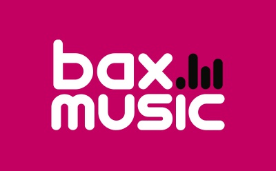 Logo Bax Music is onze vertrouwde verkooppartner voor deze cadeaubon