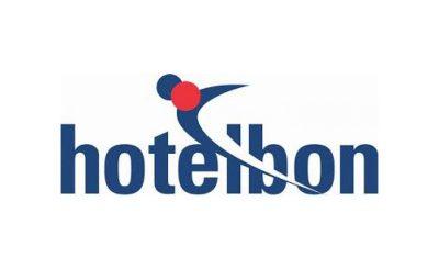 Logo Hotelbon is onze vertrouwde verkooppartner voor deze cadeaubon
