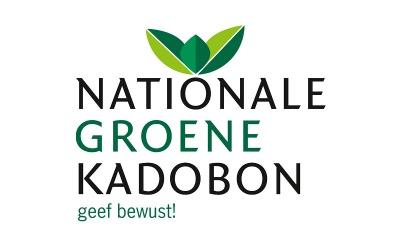 Logo Nationale Groene Kadobon is onze vertrouwde verkooppartner voor deze cadeaubon