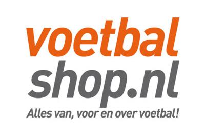 Logo Voetbalshop.nl is onze vertrouwde verkooppartner voor deze cadeaubon