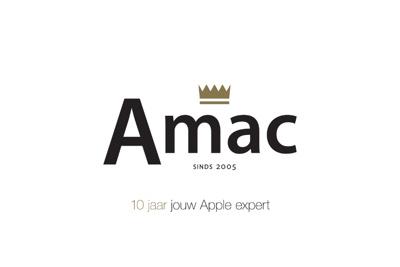 Logo Amac is onze vertrouwde verkooppartner voor deze cadeaubon